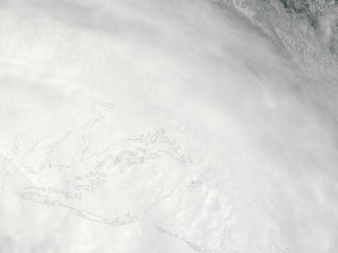 Hurricane Irene moves up the eastern seaboard. Photo credit: NASA